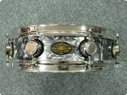 Joey Montineri Custom Snaredrum Black Diamond Pearl