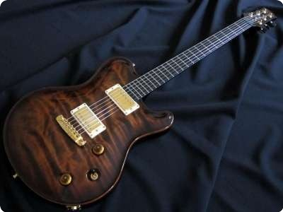Nik Huber Guitars Dolphin Redwood 2008 Tigereye Burst