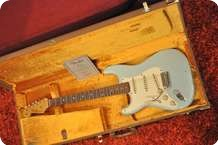 Fender Custom Shop Stratocaster 1959 Master Desing J.English LEFTY 2013 Sonic Blue