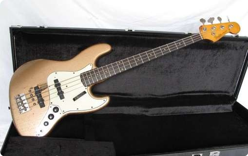 Fender Jazz Bass *norman Watt Roys Blockhead* 1962 Shoreline Gold