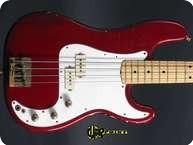 Fender Precision 1980 Candy Apple Red
