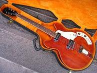 Epiphone AL CAIOLA STANDARD 1967 Cherry