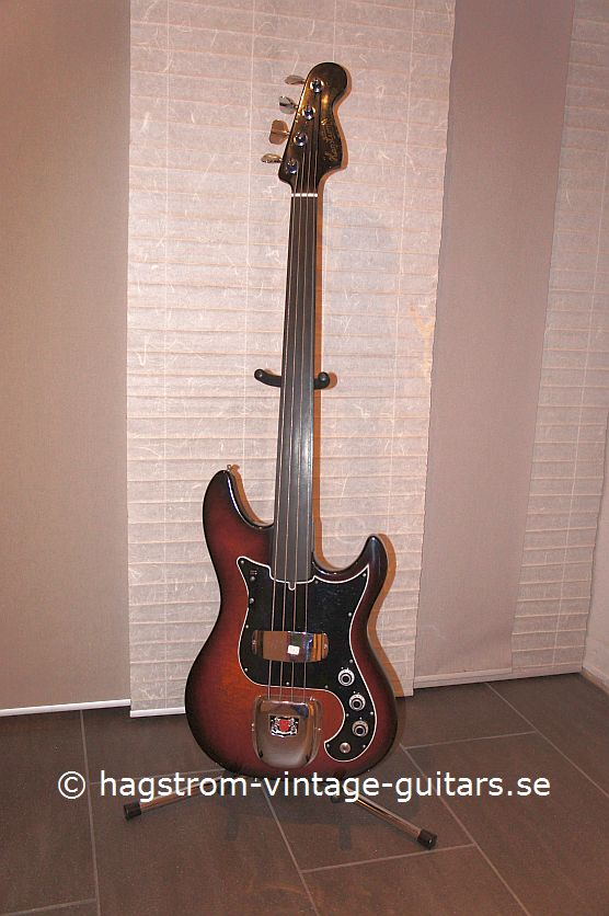 hagstrom scanbass 1979 brownburst bass for sale hagstrom vintage. Black Bedroom Furniture Sets. Home Design Ideas