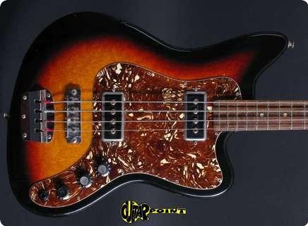 Framus Jazzmaster Bass 1974 3t   Sunburst