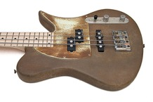 Zeal Guitars Killerbass Rusty Special