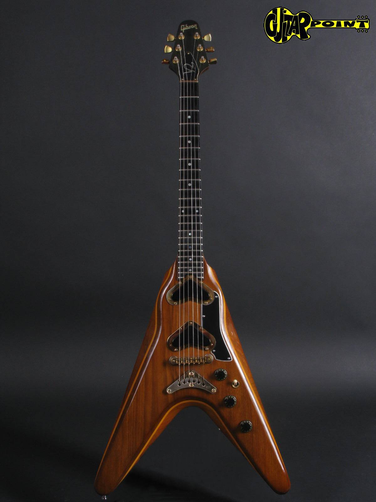 gibson flying v 2 1979 natural guitar for sale guitarpoint. Black Bedroom Furniture Sets. Home Design Ideas