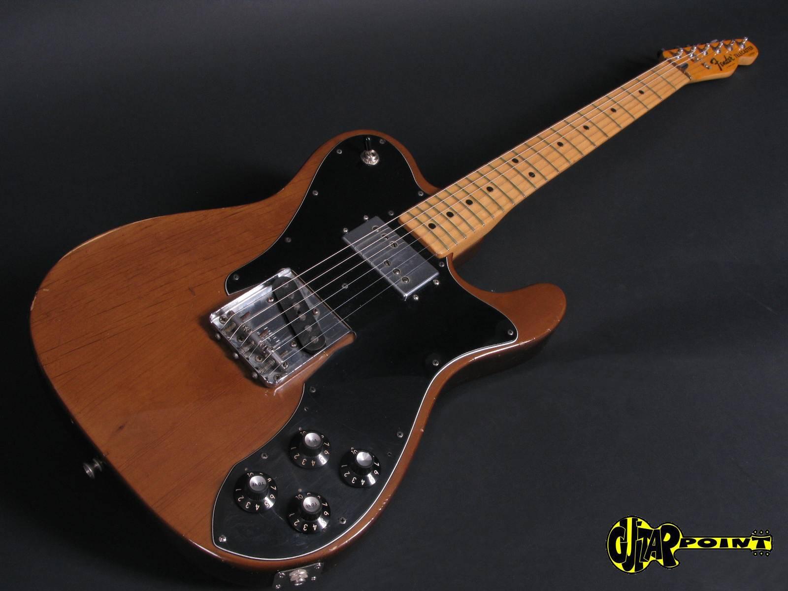 fender telecaster custom 1973 mocca guitar for sale guitarpoint. Black Bedroom Furniture Sets. Home Design Ideas
