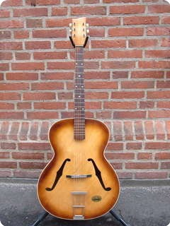 Hoopf Jazz Guitar 1959