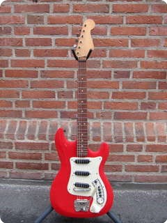 Hagstrom Futura 1971 Red