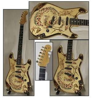 Fender Stratocaster   Golden Dragon 1998
