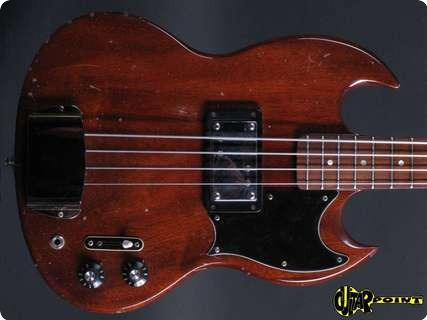 Gibson Eb 4 L (longscale) 1973 Mahagoni