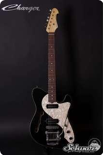 Schwarz Custom Guitars Supercharger 2013 Nitro / Black