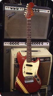 Fender Mustang 1969 Candy Apple Red Car Competitions