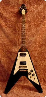 Gibson Flying V 1976 Original Black