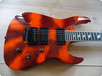 Caparison Tat Ii  Red Sunset Red Sunset
