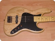 Schecter USA S Jazz Bass WMaple Neck 2012 Natural Oil