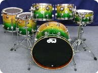 Dw DW Collectors Maple Mahogany Exotic Shellset 2012