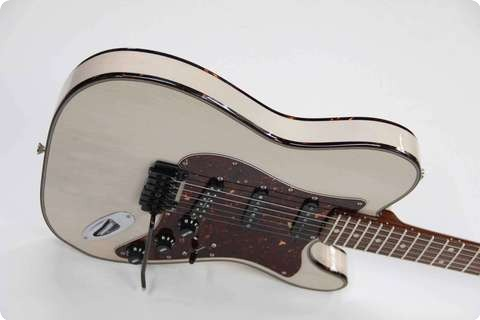 Pavel Maslowiec Custom Guitars T Style Custom Blonde