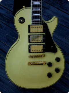 Gibson Les Paul Custom 1989 White Finish
