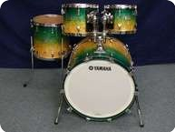 Yamaha PHX Hybrid Custom Shellset 2012 Turquoise Fade Over Ash