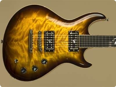 Ruokangas Guitars Duke Classic 2012 Tobacco Burst