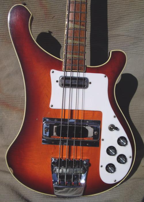 rickenbacker 4001 1972 fireglo bass for sale hendrix guitars. Black Bedroom Furniture Sets. Home Design Ideas