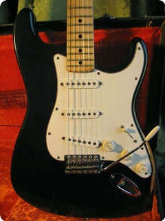 Fender Stratocaster 1972 Black Custom Color