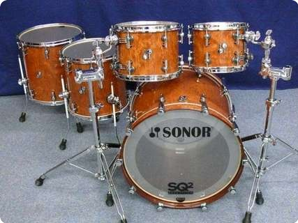Sonor Sq2 Shellset 2012 Bubinga High Gloss