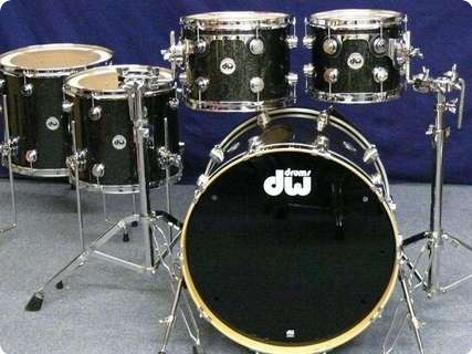 Dw Dw Collector's Finish Ply Shellset 2012 Black Ice (finish Ply)