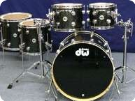 Dw DW Collectors Finish Ply Shellset 2012 Black Ice Finish Ply