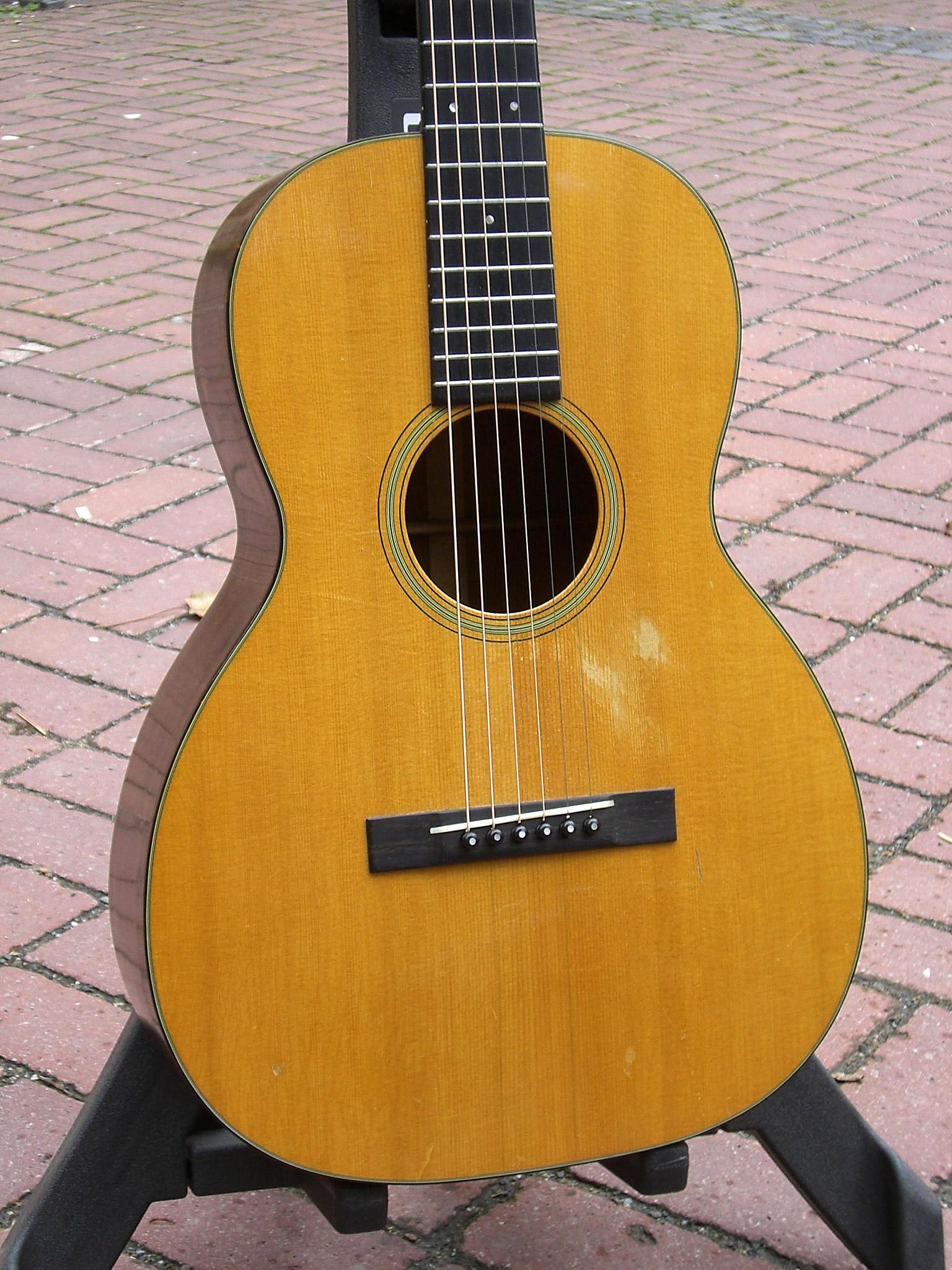 c f martin 00 18g 1936 natural guitar for sale henkes blazer. Black Bedroom Furniture Sets. Home Design Ideas
