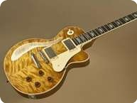 Ruokangas Guitars Unicorn 2012 Teaburst Exceptional Arctic Birch Top