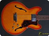 Epiphone Rivoli 1966 Sunburst