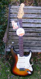Fender Stratocaster 1962 Sunburst