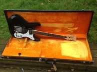 Mosrite Mosley Ventures 1966 Black