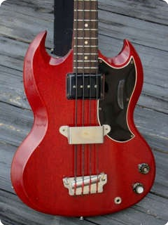 Gibson Ebo 1963 Cherry 