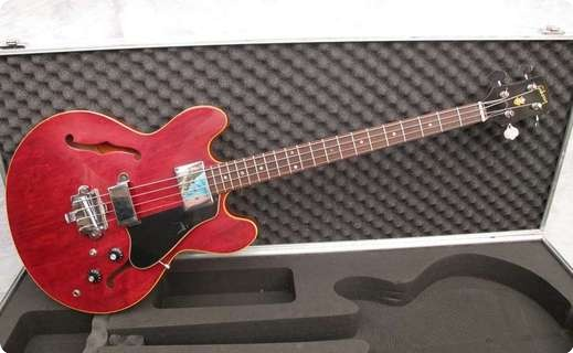 Gibson Eb2 1967 Cherry Red