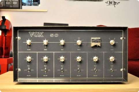 Vox / Jmi P.a . System Super   Very Rare  New Old Stock  1964