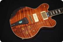 DGN Custom Guitars CR Model Nitrocellulose Lacquer Tri Burst