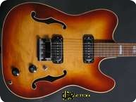 Hoyer Telecaster Thinline 1968 Sunburst