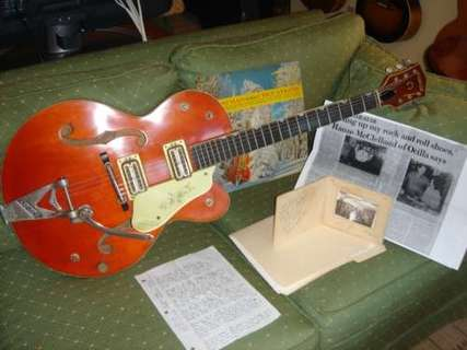 Gretsch 6120 1961 Orange