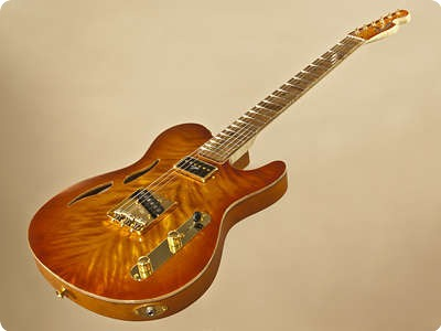 Ruokangas Guitars Mojo Grande Honeybrust