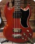 Gibson EB 3 SG 1961 Cherry Red