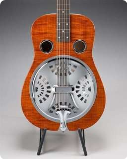 Beard E Model Resonator   2012 Natural Maple