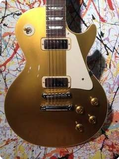 Gibson Les Paul Lp Deluxe Custom 57 2012 Gold Top