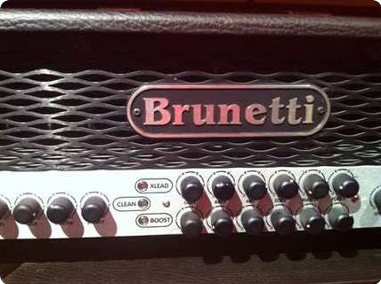 Brunetti Xl R Evo 120w Midi Head W/6l6