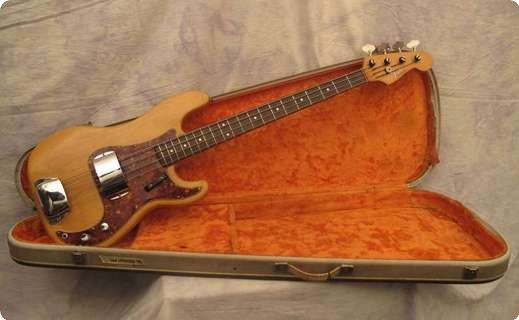 Fender Precision 1966 Natural (stripped)