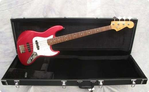 Fender Jazz 62 Reissue 1983 Candy Apple Red