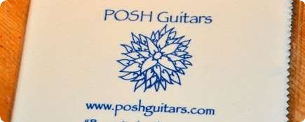 Posh Guitars Budget Cleaning Cloth Cream