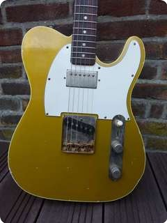 Panucci Custom Guitars T Type Double Bound  Oxi Gold